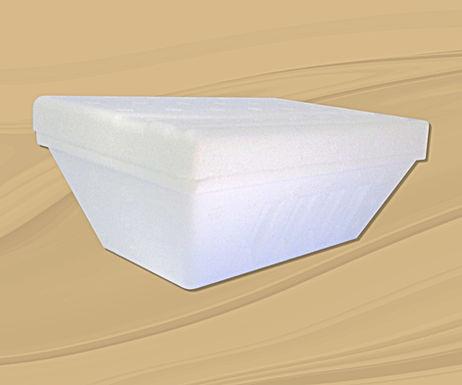 Envase térmico para helado termosellado 1/2 l.