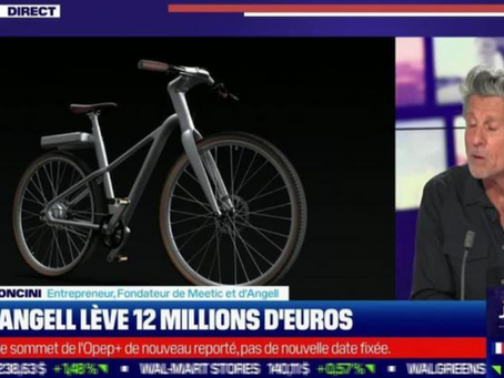 BONNIER SAINT-FÉLIX est intervenu aux côtés d'Angell pour boucler une nouvelle levée de 12M€