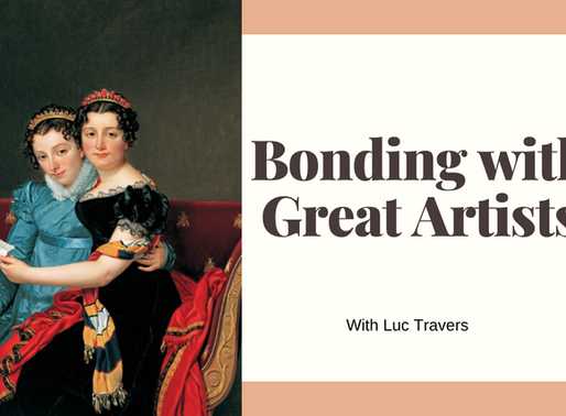 Bonding with Art and Artists W/ Luc Travers