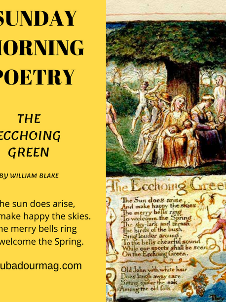 The Echoing Green by William Blake