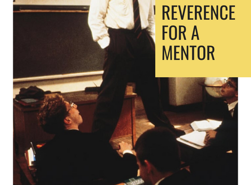 Surprised by Art #4: Reverence for a Mentor