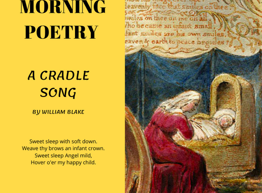 A Cradle Song by William Blake