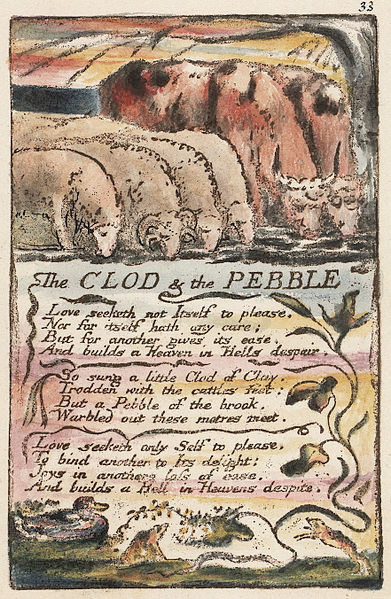 The Clod and the Pebble by William Blake