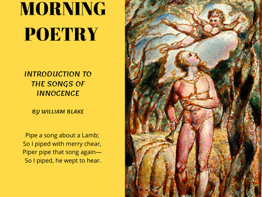 Introduction to the Songs of Innocence by William Blake