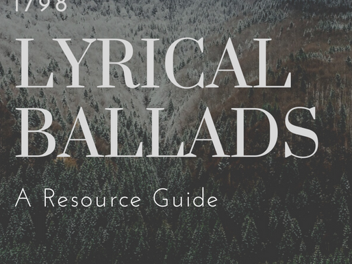 Lyrical Ballads by Wordsworth and Coleridge: A Resource & Guide