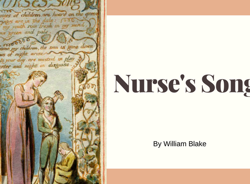 Nurse's Song by William Blake