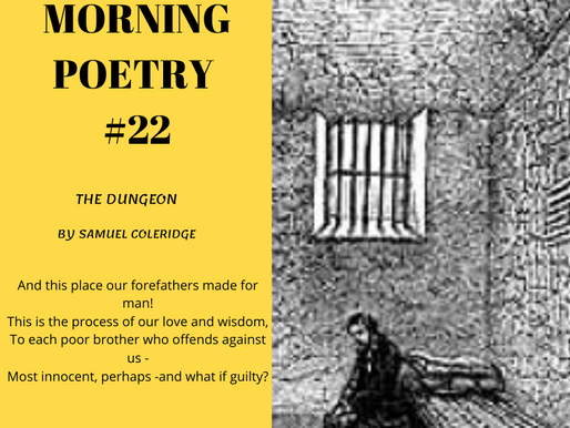 The Dungeon by Samuel Taylor Coleridge