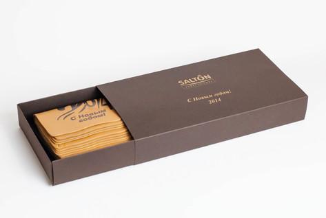коробка под календари по индивидуальному дизайну и заказу