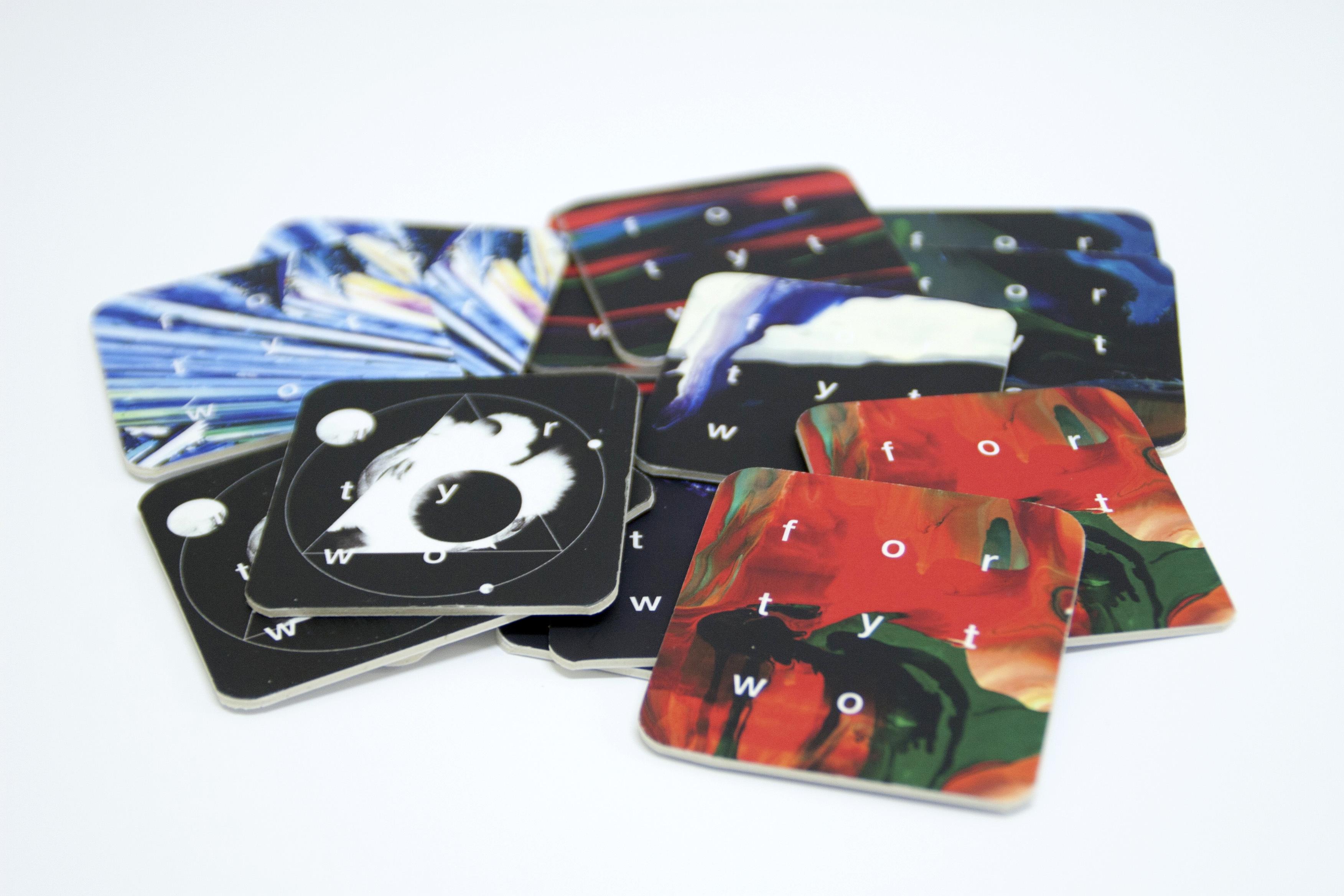 Оригинальные и необычные визитки в виде костеров (бирдекелей)