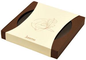 Подарочная коробка с логотипом компании