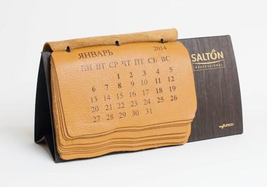 Календарь из кожи