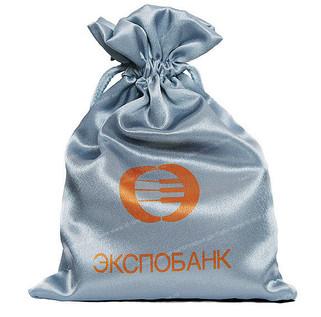 текстильная упаковка с логотипом