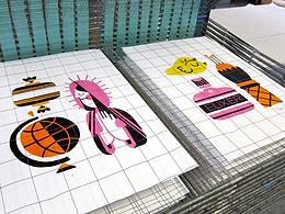 Трафаретная печать полиграфии в типографии полного цикла BTL print и печать полиграфии методом шелкографии в рекламно-производственной компании BTL print