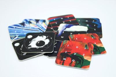 необычные дорогие визитки - костеры напечатанные на заказ