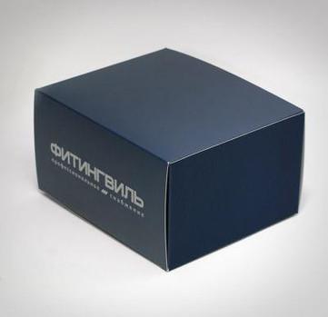Коробки из картона с печатью логотипа, изготовленные в типографии полного цикла BTL print