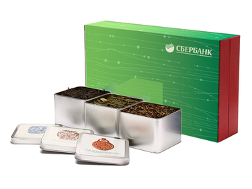 Подарочный набор чая с логотипом на заказ