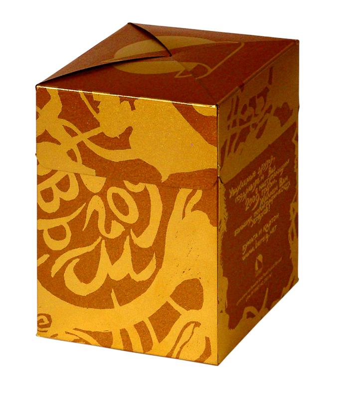Коробка футляр крышка-дно с печатью логотипа