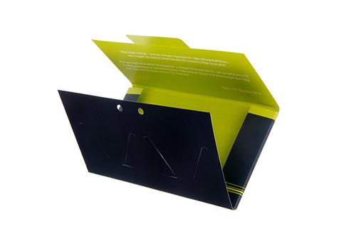 коробка с двусторонней печатью