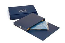 Коробка для комплекта рекламной полиграфии с печатью логотипа