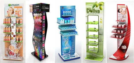 Рекламные стойки и стенды с печатью логотипа