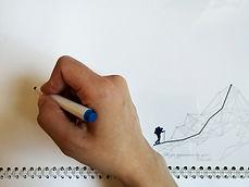 Календарь с чистой магнитно-маркерной доской до того, как на нем сделают надпись маркером
