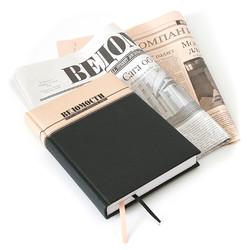 Ежедневник с печатью логотипа
