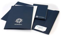 Набор имиджевой корпоративной полиграфии с печатью логотипа