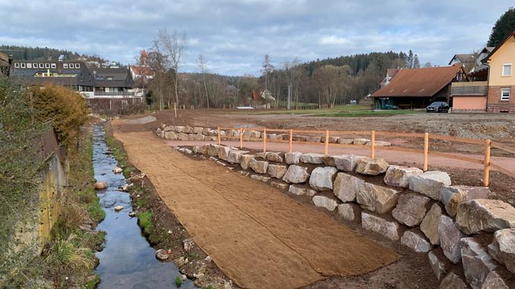 Baustellen-Update: WOHNEN AN DER WALDACH   Waldachtal-Lützenhardt