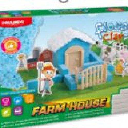 Flossy clay Farm house