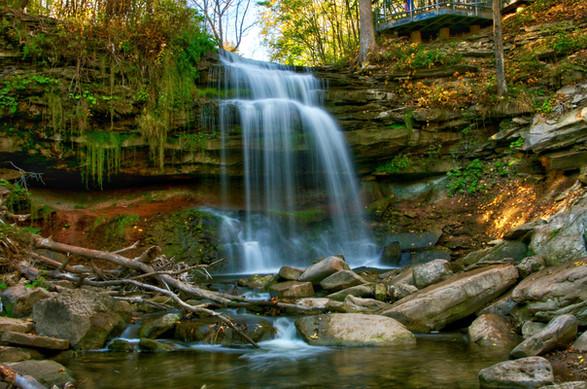 Smokey Hollow Waterfall