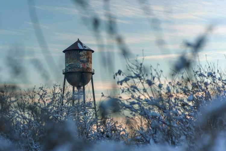 Lakeview water tower