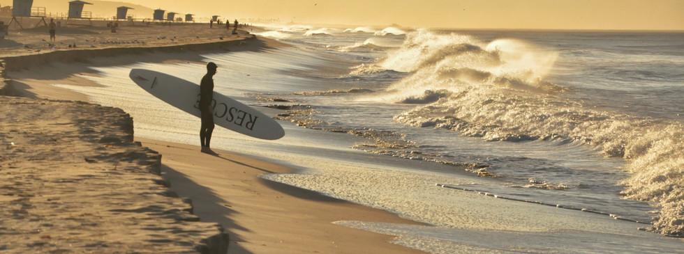 Golden Morning in Huntington Beach