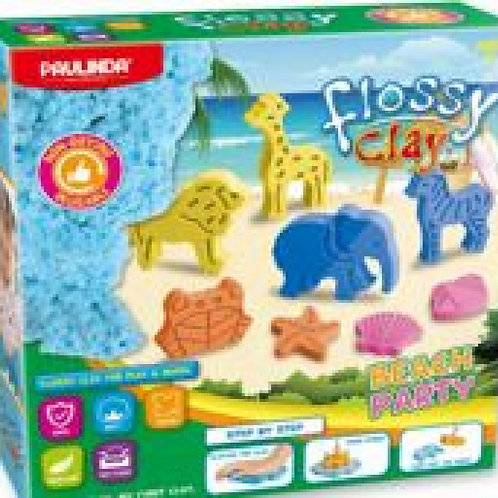 Flossy clay Beach party animals
