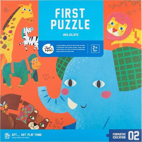 My First Puzzle Set - Wildlife Animals