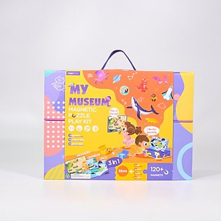Magnetic Puzzle Play Kit - My Museum