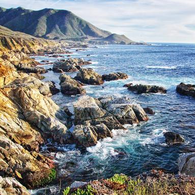 Rugged California coastline