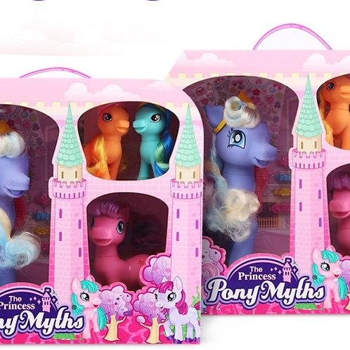 Pony Myths Large Meduim & 2 Small