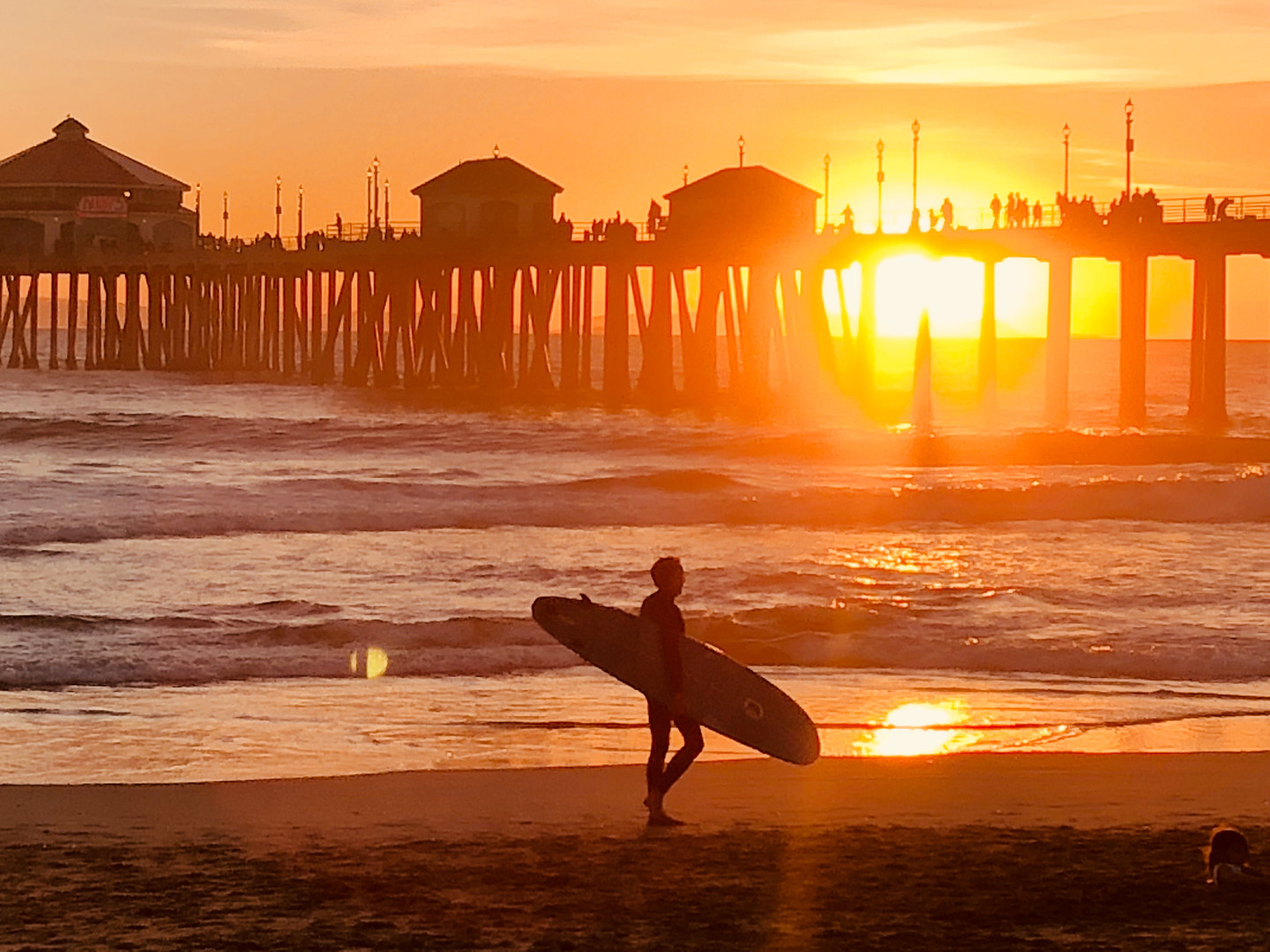 Surfer, Huntington Beach