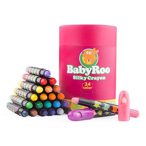Baby Roo - Silky Crayon 24 pcs