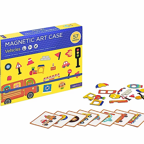 Magnetic Art Case - Vehicles
