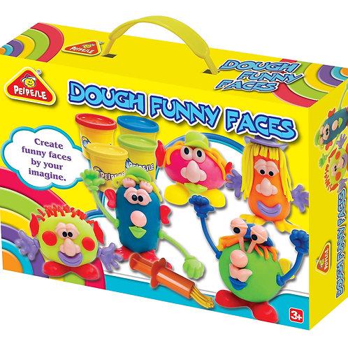 Dough Funny Faces