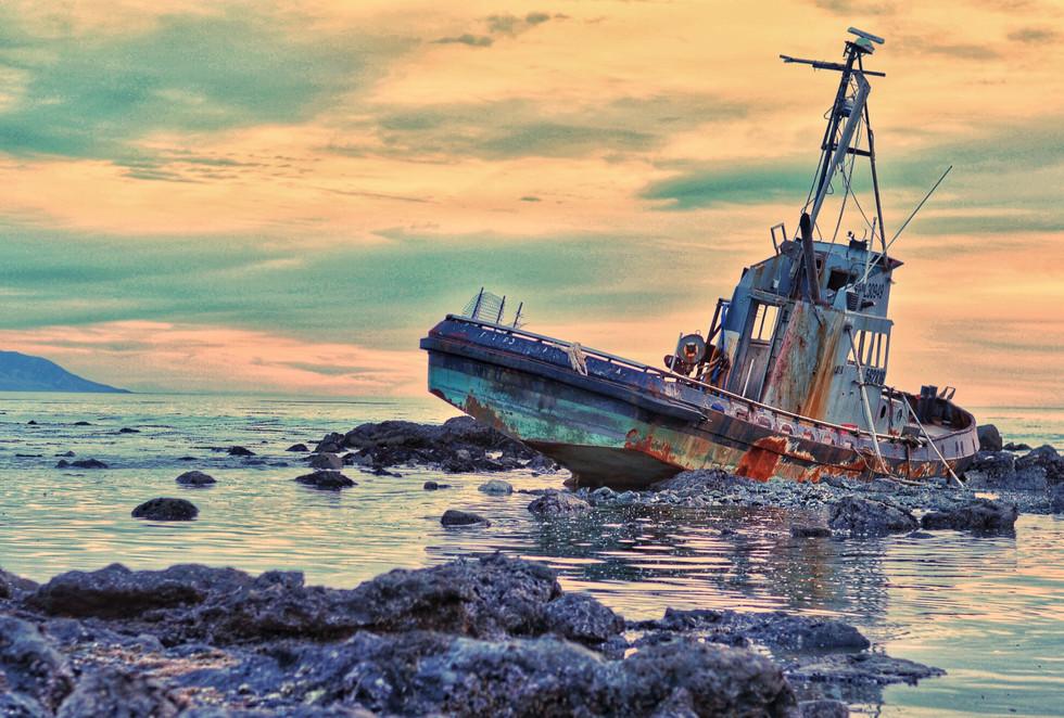 Shipwreck in Cambria