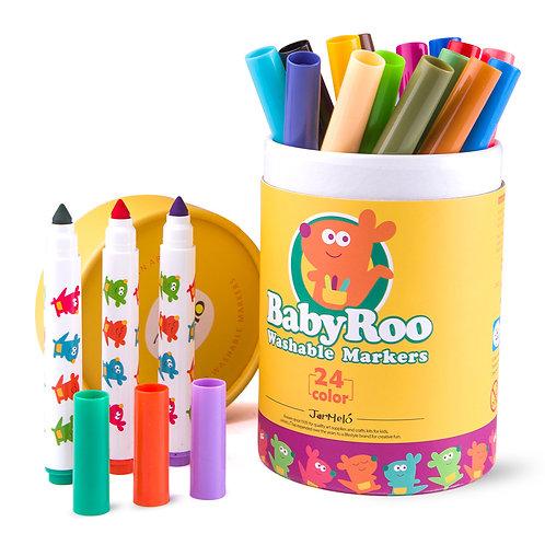 Baby Roo - Washable Marker 24pcs