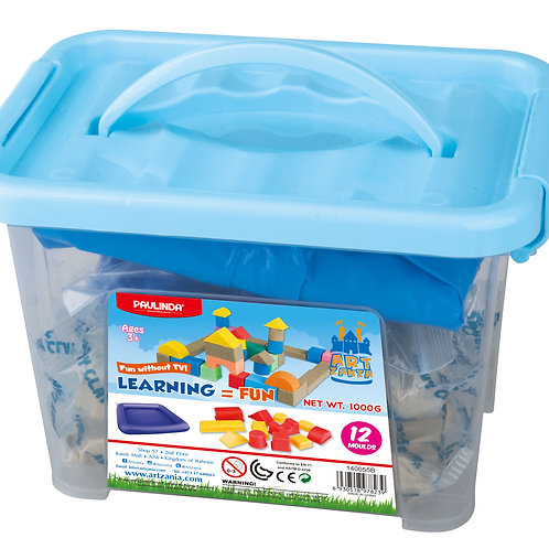 1000g Sandy clay in Plastic box