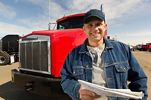 D.O.T. medical examination for commercial truck driver CDL