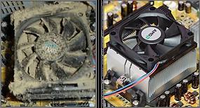καθαρισμός σκόνης υπολογιστή remove dust laptop