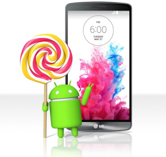 LG G3, αναβαθμίζεται σε Android Lollipop την ερχόμενη εβδομάδα