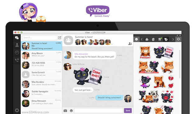 100 εκατομμύρια χρήστες, Το Viber αναβαθμίζει την desktop έκδοση.