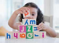 enfant cube alphabétique