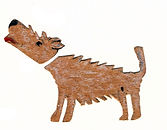 Sabine Rufener Illustration Kinderbuch Collage Hund
